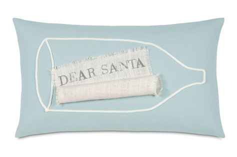 Wish List in the Bottle Pillow