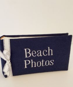 blue-linen-beach-photo-album